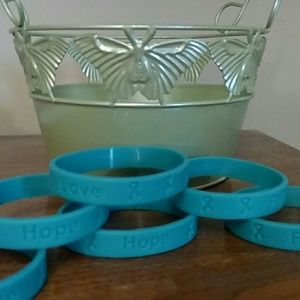 Accessories - Teal bracelet